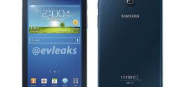 Blue Samsung Galaxy Tab 3 7.0
