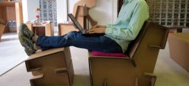 Chairigami Folding Cardboard Furniture