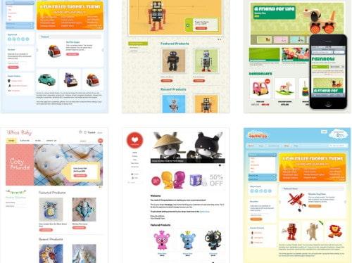 Gaming web templates