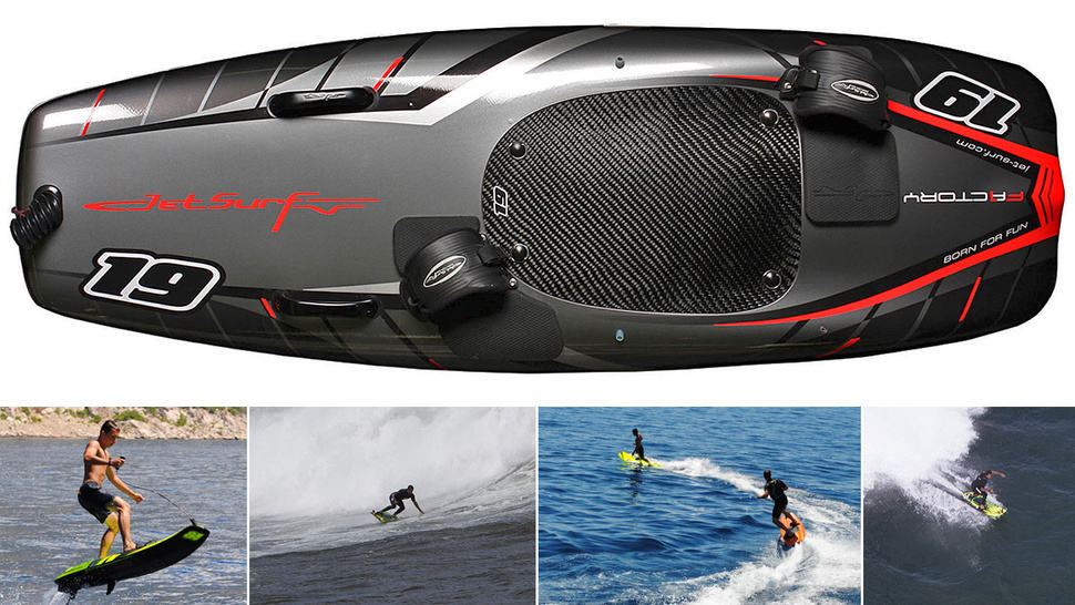 Surf At 35mph With The Gas Powered Surfboard Gearfuse