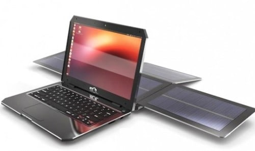 Solar Powered Laptop