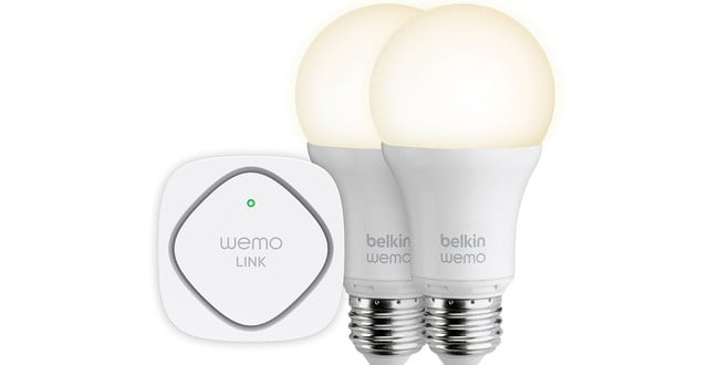 Switch Your Lights On With Your Cell With WeMo Smart LED Bulbs