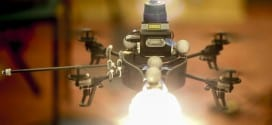 Lighting Drone to the Photographer's Rescue