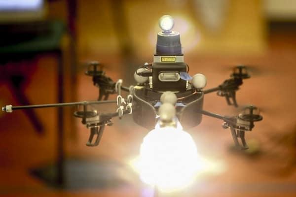 lighting drone