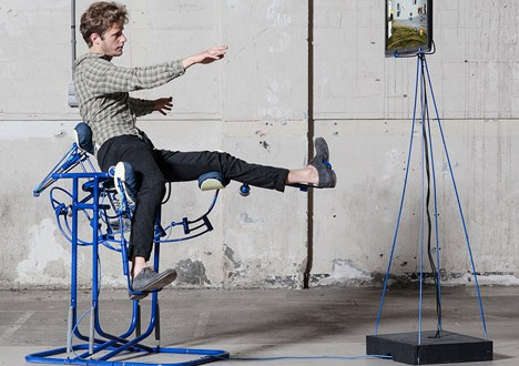 The Dynamic Chair Turns Your Body Into a Human Computer Mouse