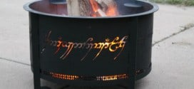 One Firepit To Rule Them All: Lord of The Rings Firepit