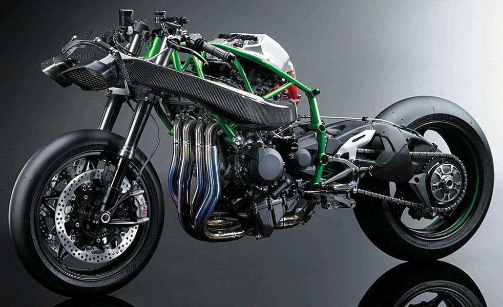 Kawasaki Ninja H2r >> The Most Powerful Motorcycle Ever Produced: The Kawasaki ...