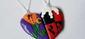 Superhero and Villain Friendship and Love Necklaces