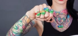 Fingers in a Half Shell: Retro Teenage Mutant Ninja Turtles Rings