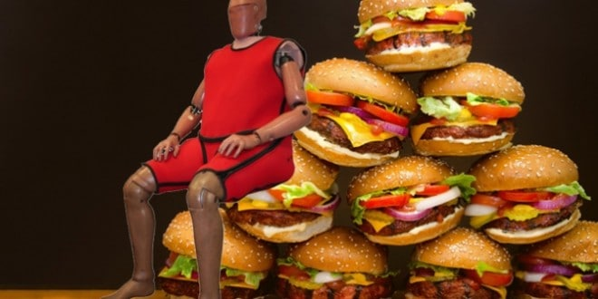 Fat and Dumb: New Crash Test Dummies Will Be Made Obese