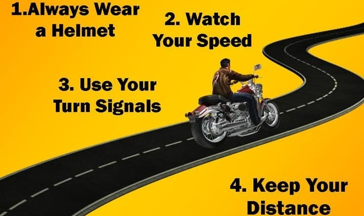 Motorcycle Safety Tips Gearfuse