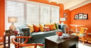 ecstatic-orange-living-room