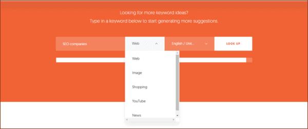 Keyword type