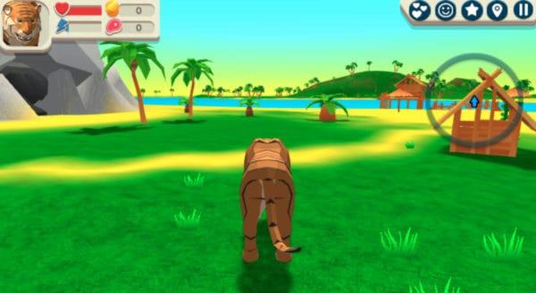 Tiger 3D game