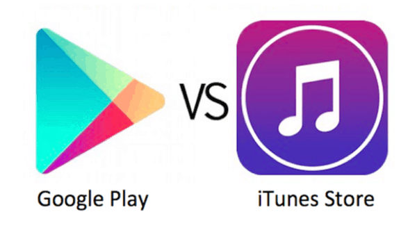 Google vs itunes