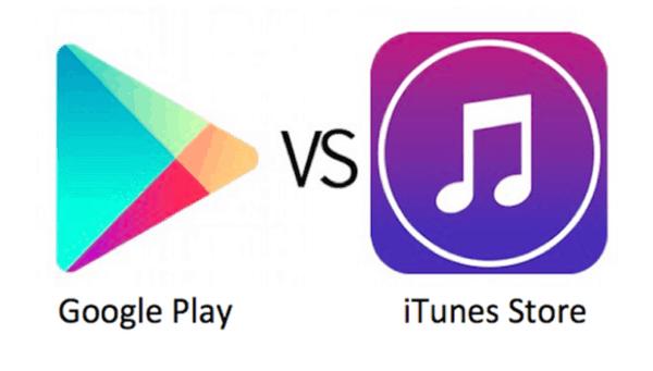 Google vs itunes