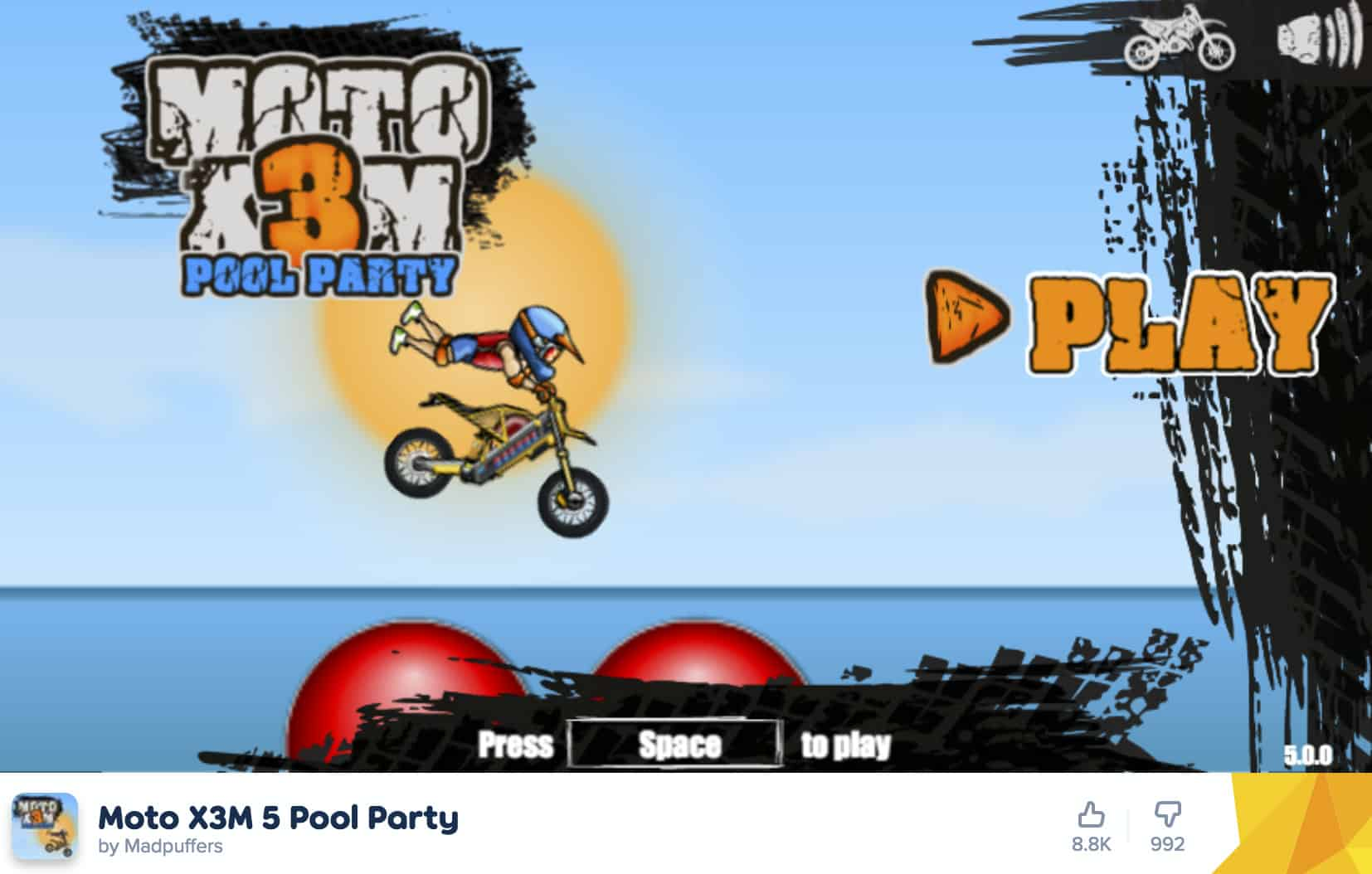 Moto X3M 5 Pool Party Review – Party Hard   Gearfuse