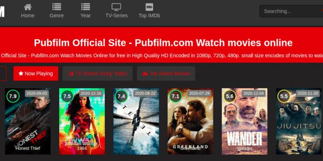 Sites Like Pubfilm