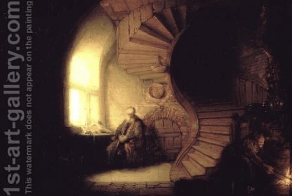 Philosopher In Meditation 1632