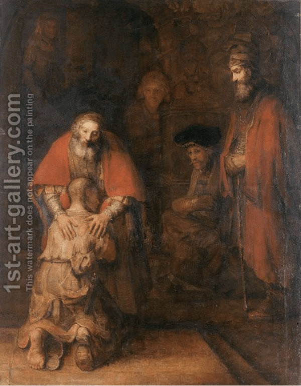 The Return Of Prodigal Son c. 1669