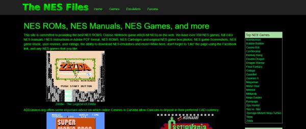 The NES Files