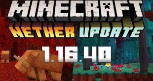 Minecraft 1.16.40