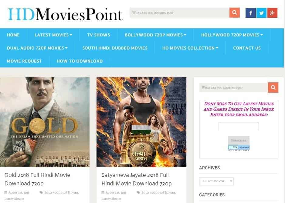 15. HD Movies Point