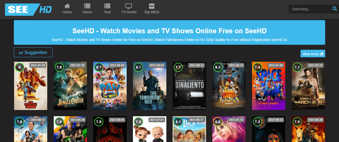 Watch movies on See HD