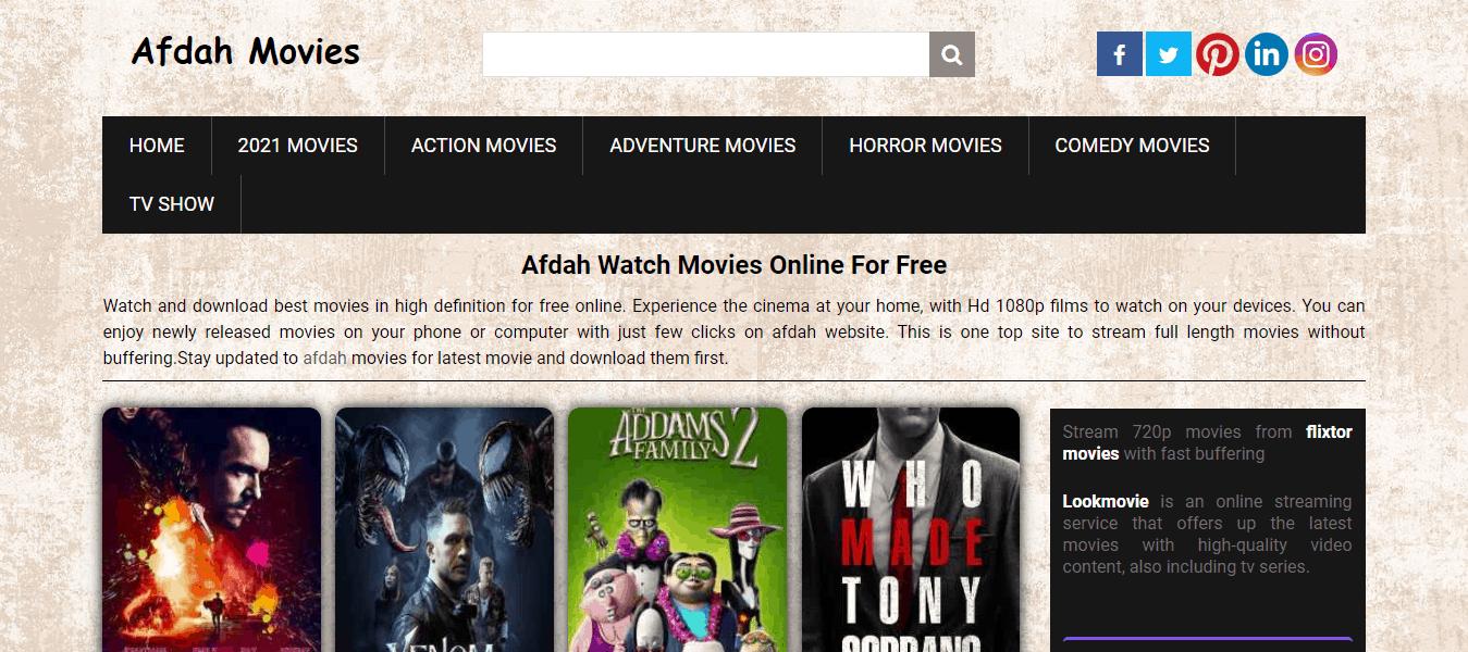 Watch Free Online Best Movies on Afdah Movies