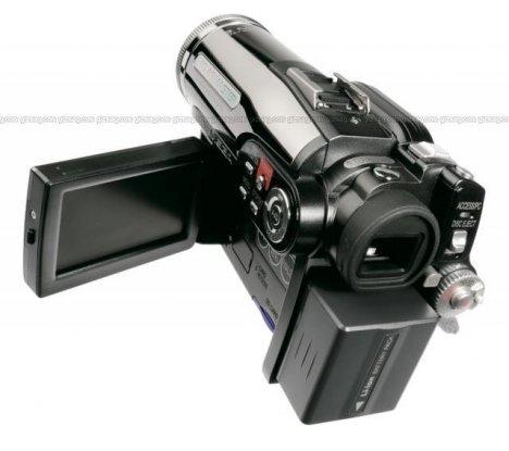 hitachi dvd/hdd camcorder