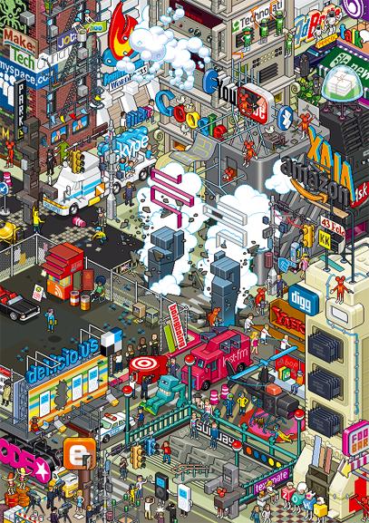 eboy web 2.0 poster