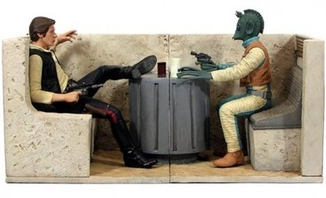 mos eisley cantina bookend set