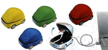usb car ashtray