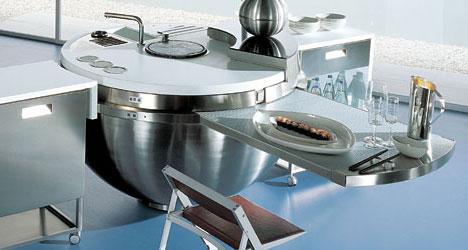sheer kitchen sphere