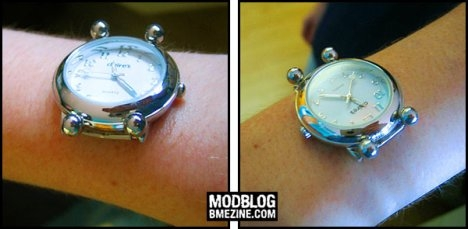 wristwatch piercing