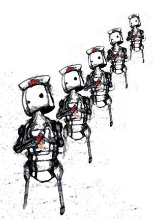 robot nurses