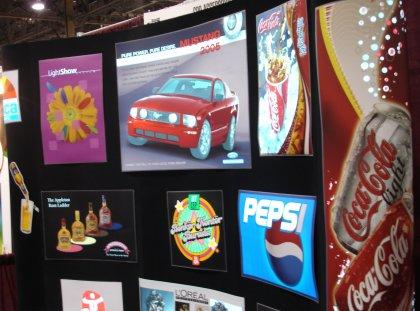 flexmedia animated electroluminescent signage