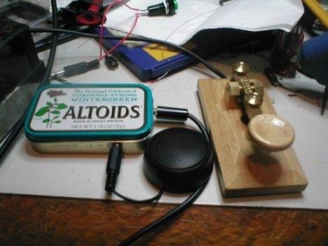 altoids can morse code oscillator