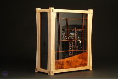 Yuugou Case Mod Fuses Wood Craftsmanship With Technology