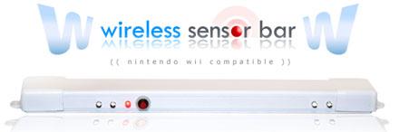nintendo wii wireless sensor bar