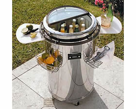 electric party refrigerator