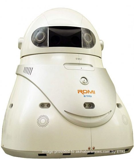 romi robot