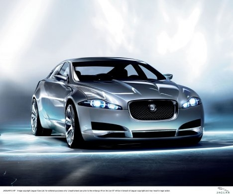 Jaguar C-XF Concept Wallpaper