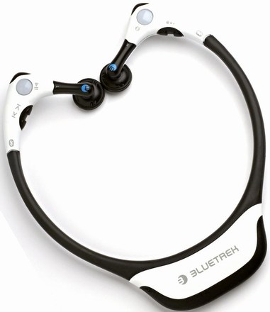 bluetrek st1 bluetooth headphones add overly large exoskeleton gearfuse. Black Bedroom Furniture Sets. Home Design Ideas