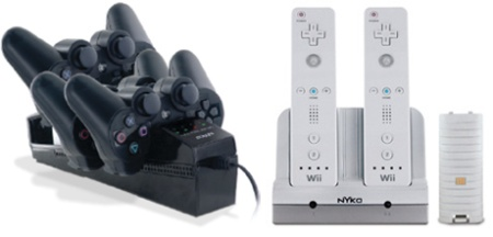 nyko wii ps3 chargers