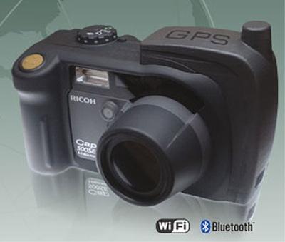 ricoh 500se gps camera