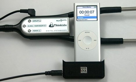 thinklabs ipod stethoscope